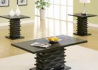 cheap end tables and coffee table sets black wooden furniture
