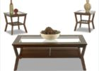 cheap end tables and coffee table sets glass on top