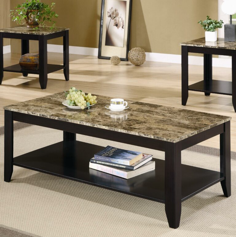 Cheap end tables and coffee table sets modern marble on for Cheap modern end tables