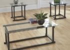 cheap end tables and coffee table sets with glass on top