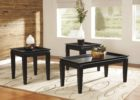 cheap end tables and coffee table sets with glass on top ideas