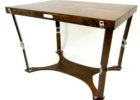 cheap small oak wood fold up coffee table