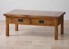 cheap solid wood oak furniture land coffee tables with storage