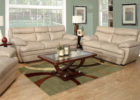 cheap white modern leather living room sets