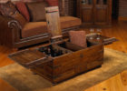 contemporary wooden living room chest coffee tables