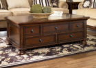 contemporary wooden storage living room coffee tables