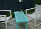 cribbage board coffee table for outdoor furniture
