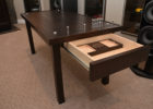 cribbage board coffee table with storage