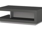 dark grey gloss coffee table for small living room spaces