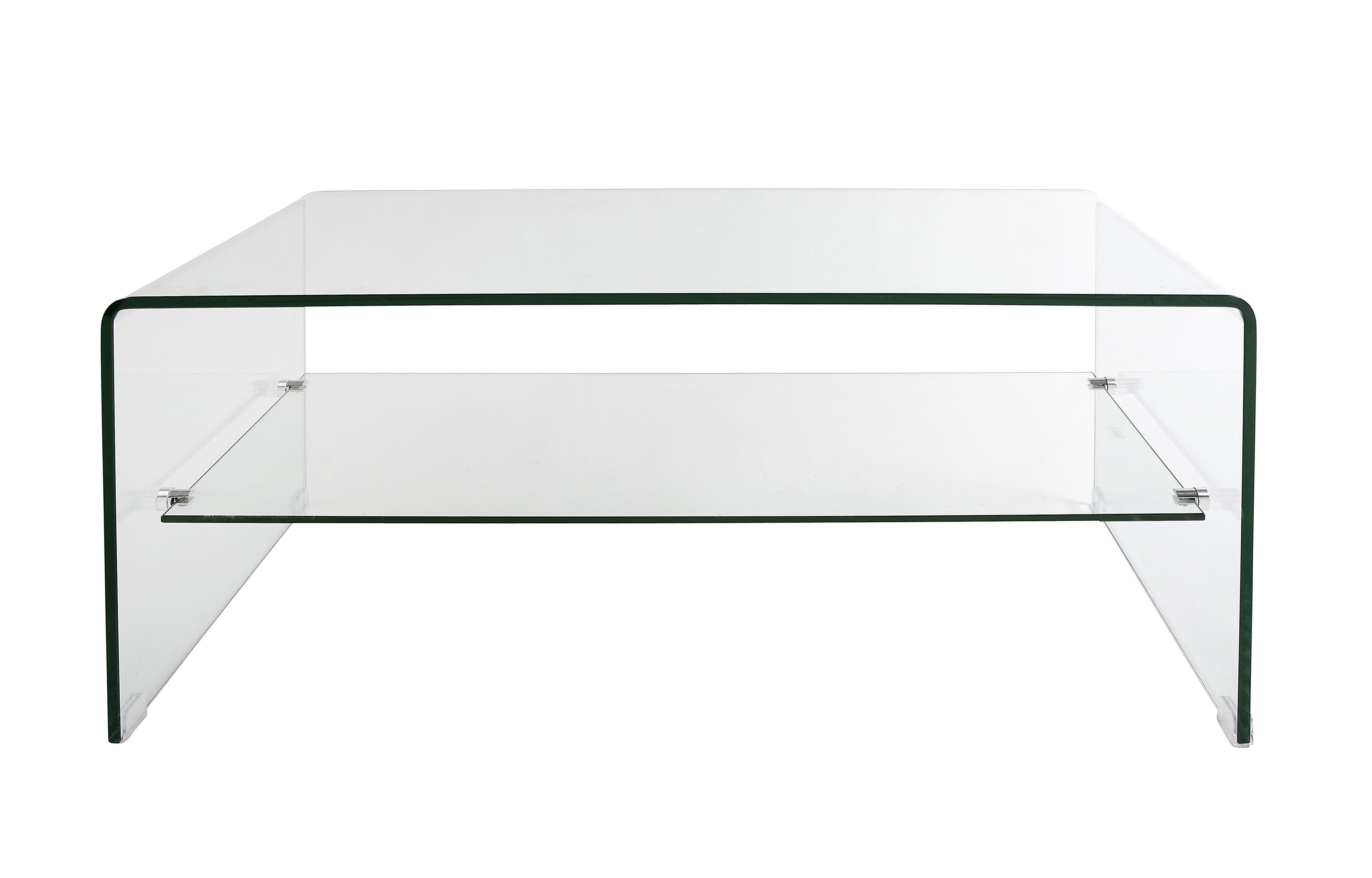 Dfs Glass Coffee Table With Simple Shape