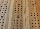 diy wooden cribbage board coffee table template