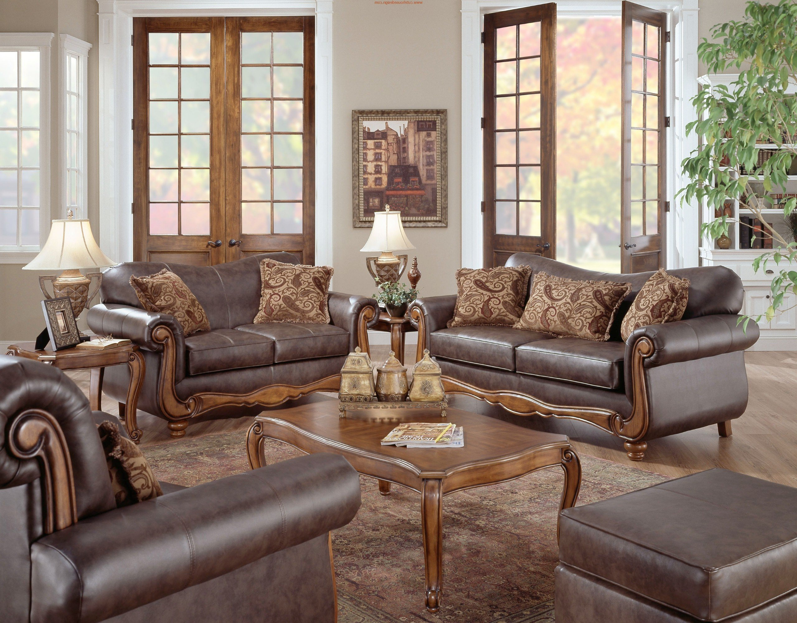 formal contemporary leather living room sets