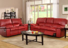 formal red leather living room sets ideas