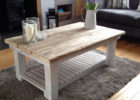 french style shabby chic coffee table