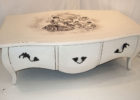 french style white shabby chic coffee table