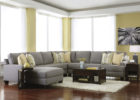 grey cheap modern furniture sectional sofa and wooden coffee tables