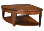 half round wooden inexpensive coffee tables
