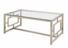 inexpensive coffee tables with metal legs