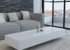 long square white gloss coffee table Ikea