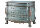 luxury blue rustic living room chest cabinet storage