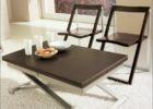 modern castro convertible coffee table with metal legs