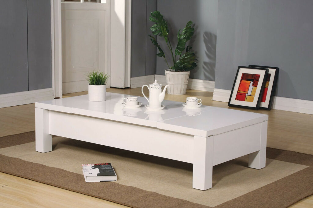Low White Gloss Coffee Table Home Design Ideas and Pictures