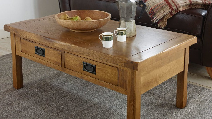 modern minimalist solid wood oak furniture land coffee tables with storage ideas