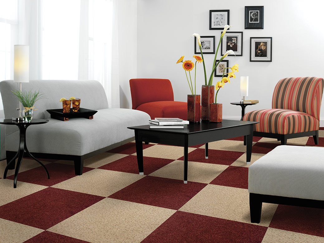 modern red white chess carpet for living room carpet cost
