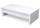 modern simple white gloss coffee table Ikea furniture