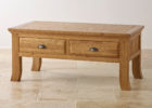 modern solid wood oak furniture land coffee tables with storage ideas