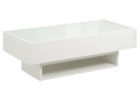 modern white coffee table Ikea Uk with glass on top