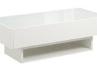 modern white gloss coffee table Ikea furniture