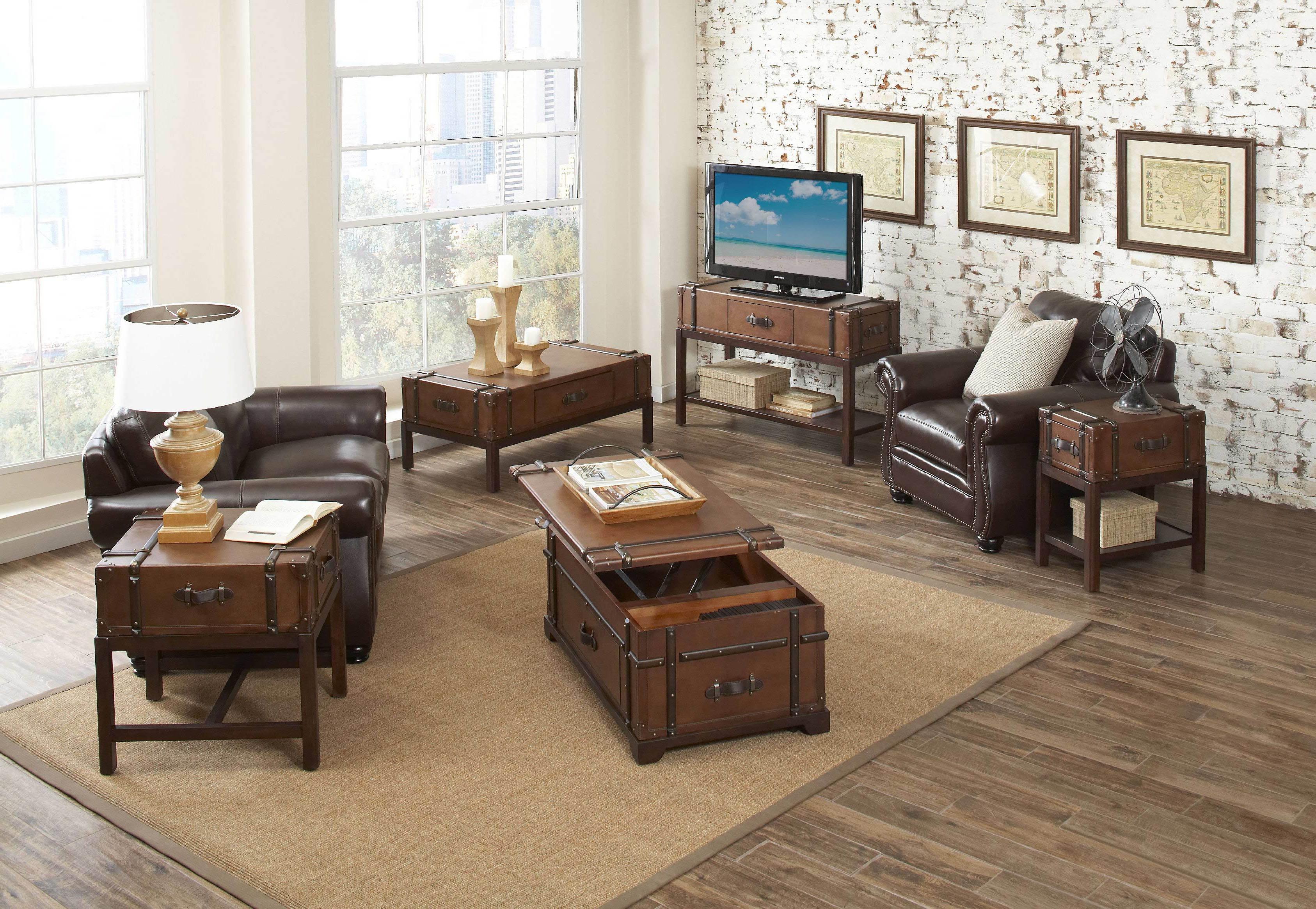 modern wooden living room chest furnitures sets