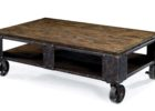 modern wooden rustic Ikea coffee table Uk with wheels