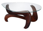 oak coffee table argos with glass on top