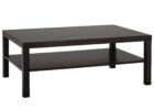 rectangle average coffee table size