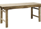 rectangle oak wooden fold up coffee table furniture