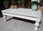 refinish second hand shabby chic coffee table