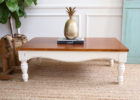 refinish shabby chic coffee table