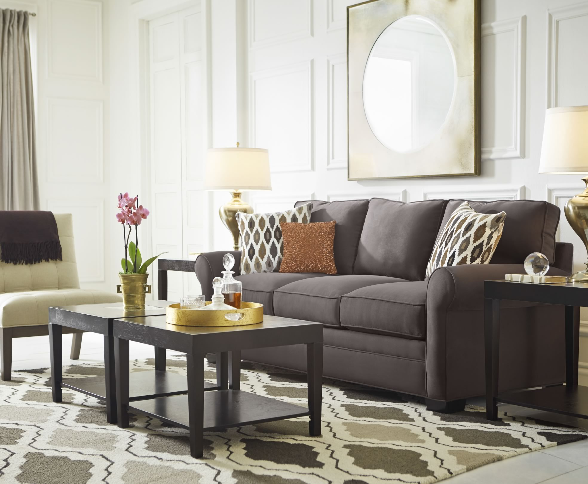 rooms to go coffee tables modern black