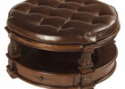 rooms to go coffee tables round leather tufted