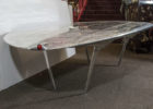 round airplane wing coffee table design