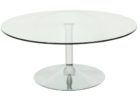 round glass Ikea coffee table Uk