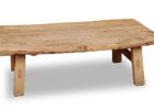 rustic coffee table from oak reclaimed wood