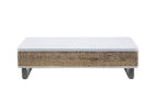 simple modern white gloss coffee table with storage