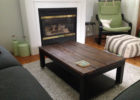simple wooden contemporary coffee table Ikea Uk