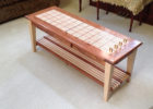 small long cribbage board coffee table