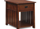 solid oak wood living room end tables with storage ideas