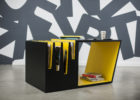 unique contemporary black yellow living room coffee tables furniture designs