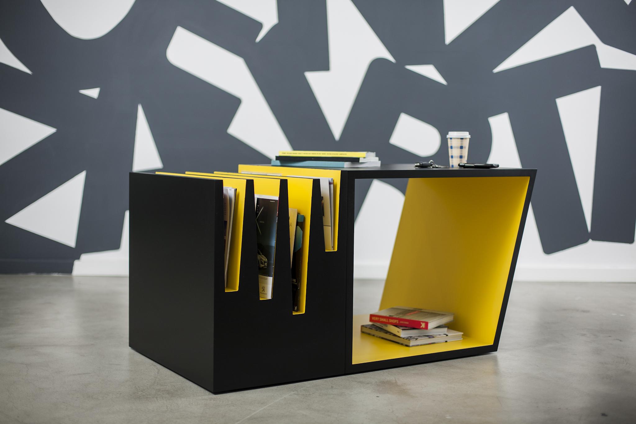 unique contemporary black yellow living room coffee tables furniture designs